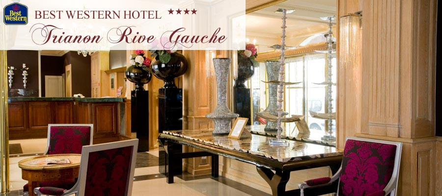 best western trianon rive gauche paris ****